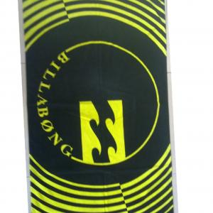 Customized and personalized promotional beach towels