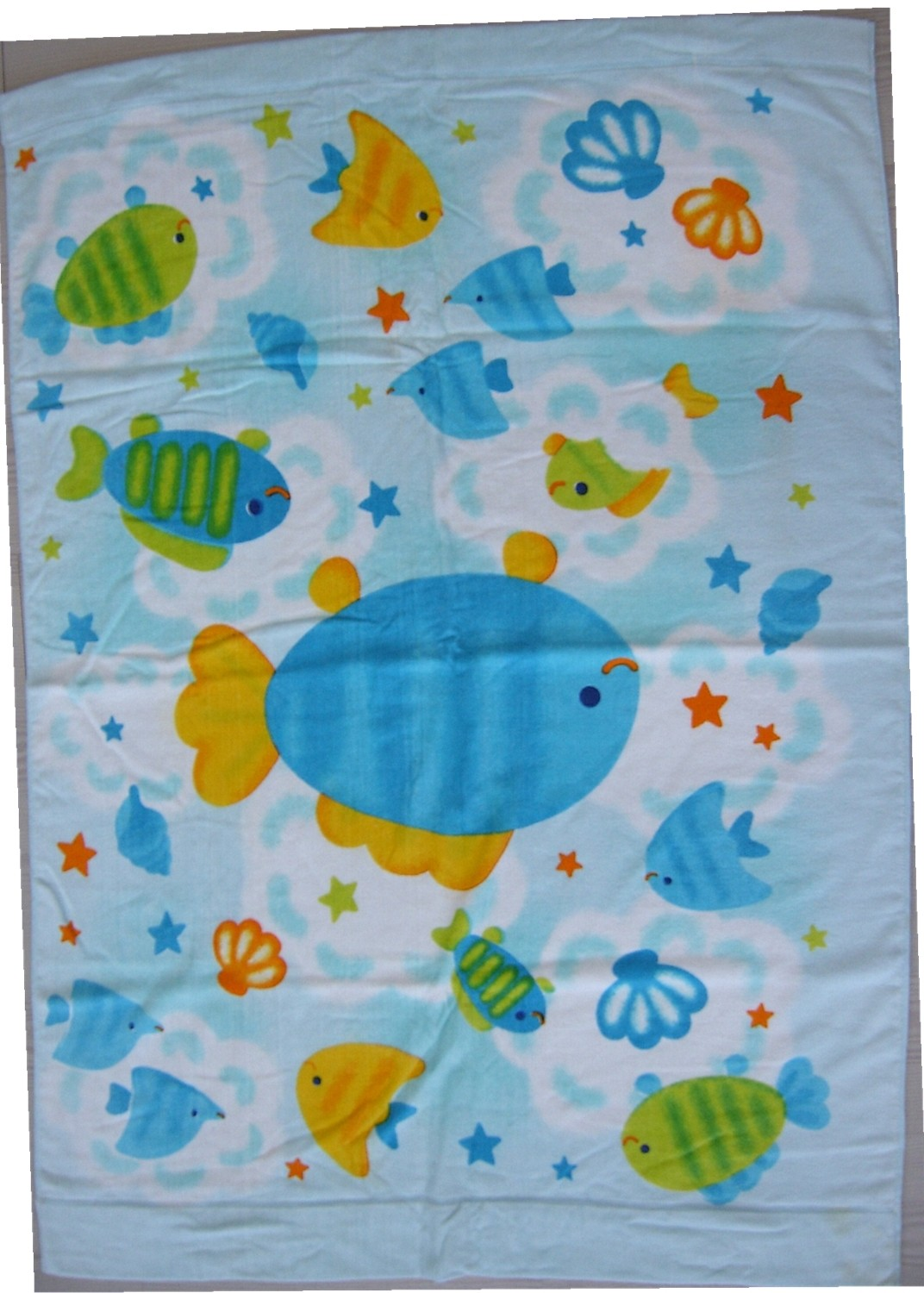 Good quality 100% cotton custom reactive  printed woven oversized blanket