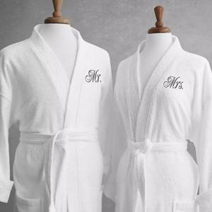 Luxury Cotton Terry Embroidery 5 Star Hotel Bath Robe
