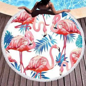 Microfiber fabrice sand free round towels