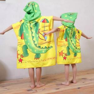 Personality children poncho towel
