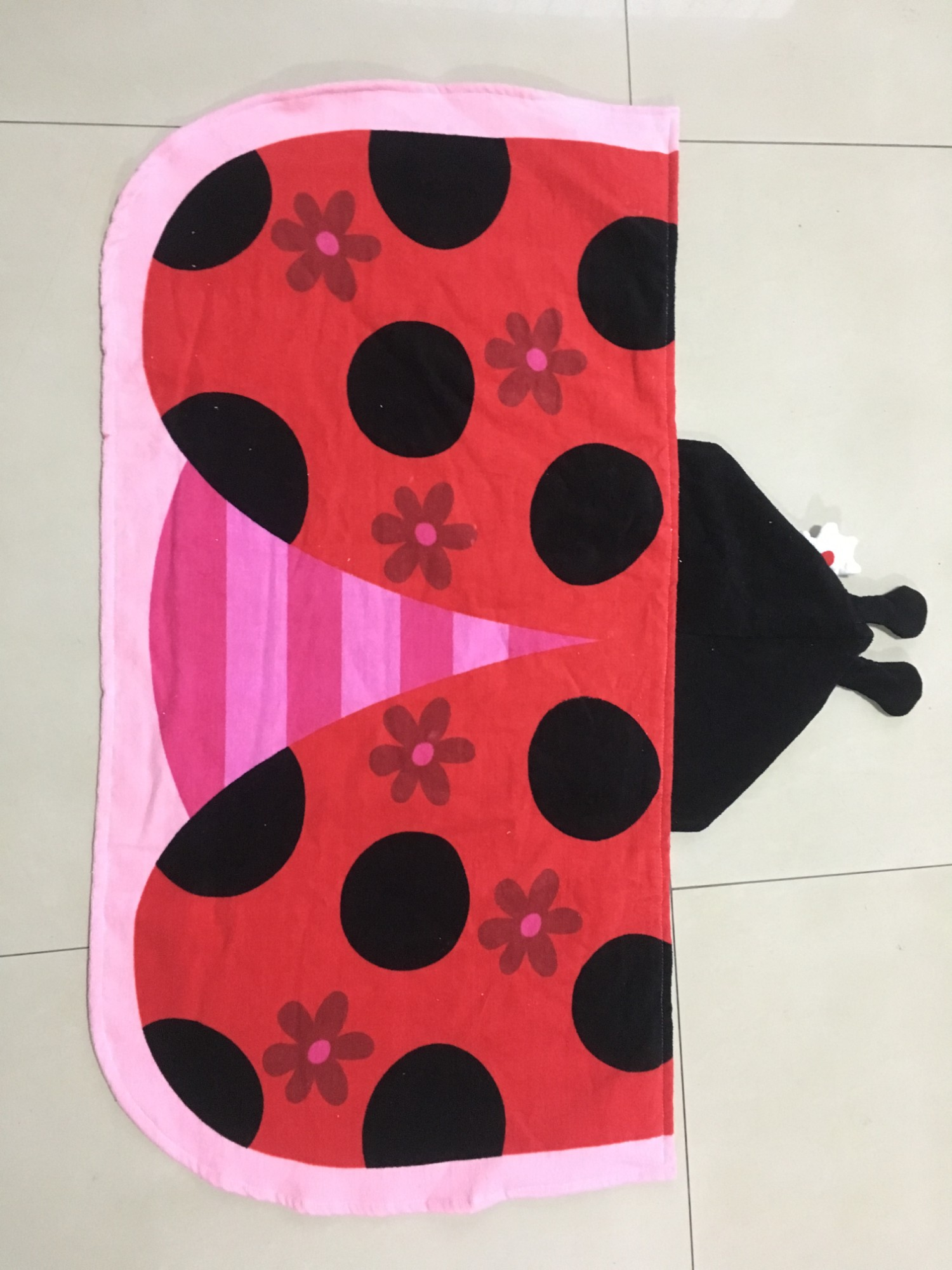 Personality desgin swimming Hooded Poncho Towel 60*120cm