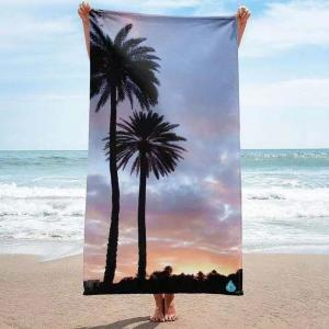 Plam tree desgin printed beach towels