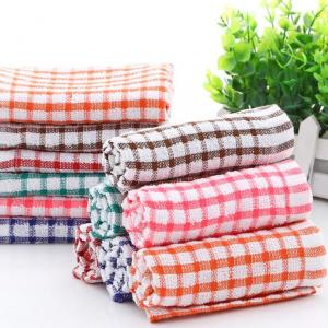 Polyester and Cotton Print Tea Towel Printing plain tea towel stripped tea towel