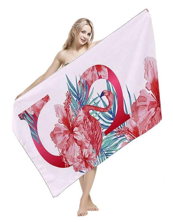 Reactive Printing 100% Cotton Beach Towels