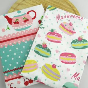 Wholesale 100% cotton custom reactive digital printed tea towel