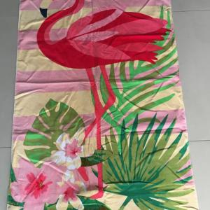 100% cotton  full color digitally printed beach towel
