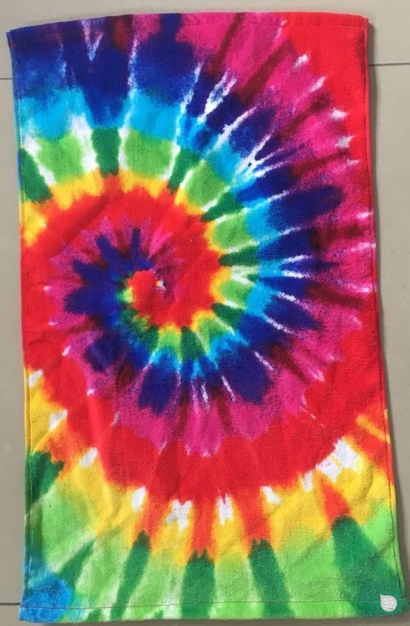 custom  design reactive printed velour  cotton beach  towel