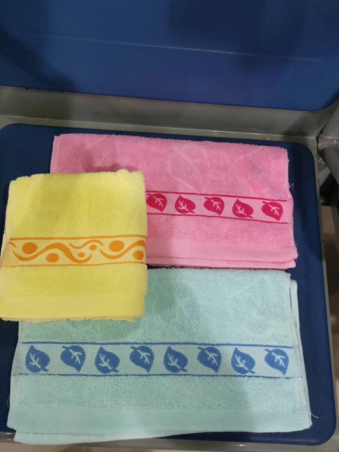 high quality woven cotton jacquard towel
