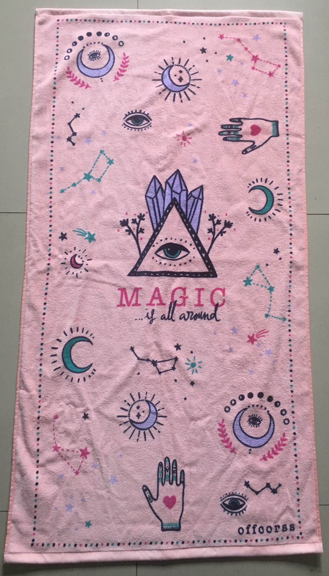 Create your personalised beach towel