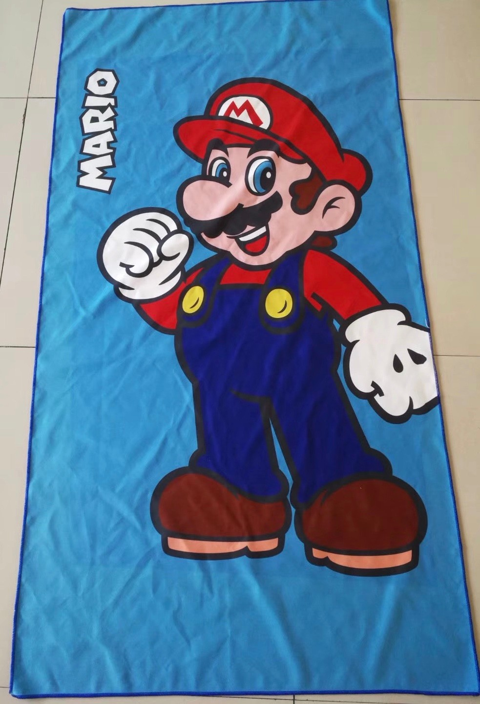 Oversized custom beach towels with names