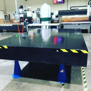 Jinanqing black granite surface table any size customerzied