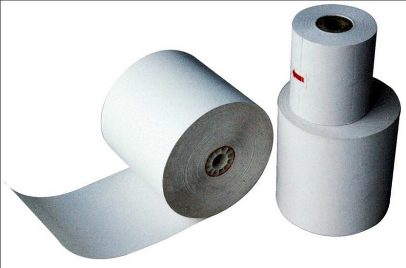 Thermal Paper Rolls 2-1/4 x 75 ft | 38mm Diameter